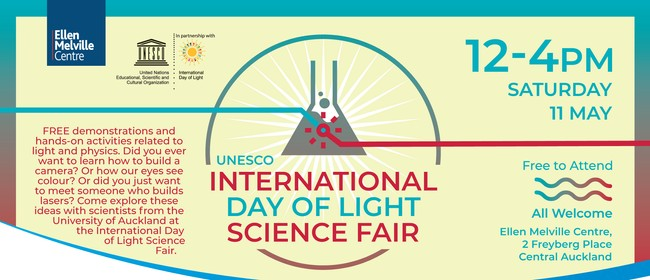 International Day of Light Science Fair