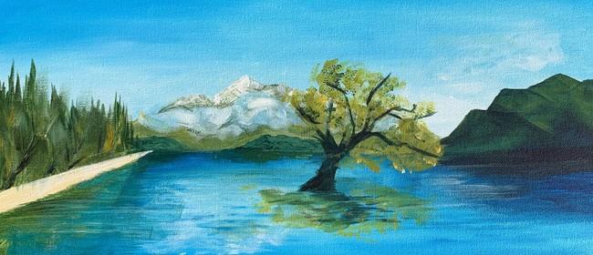 Paint and Wine Night - That Wanaka Tree - Paintvine