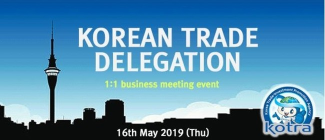 Korean Trade Delegation for NZ Importers and Wholesalers