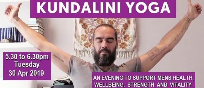 Kundalini Yoga For Men - Health Vigor And Vitality