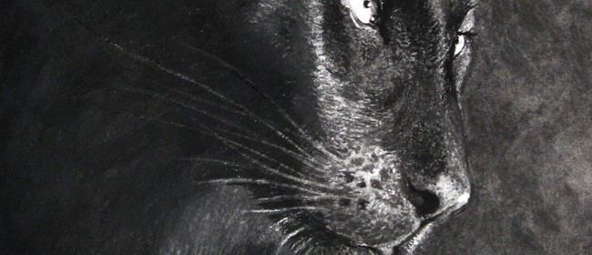 Charcoal Panther 1-day Art Workshop