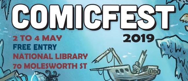 ComicFest 2019: Digital Comics Demo with Michel Mulipola