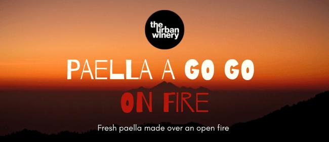 Paella A Go Go On Fire