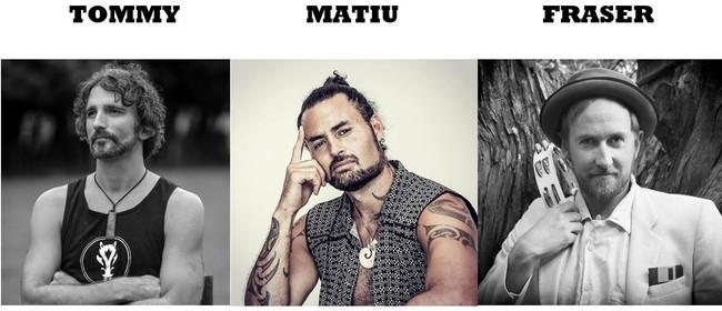 Matiu Te Huki, Tommy & The Fallen Horses, Fraser Ross