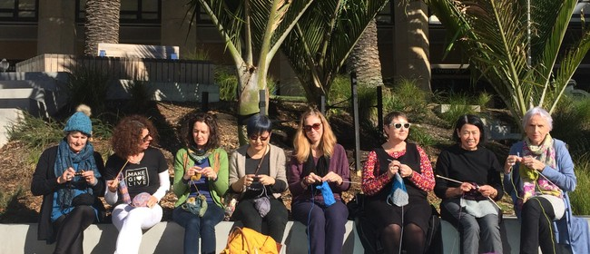 Knit In Public Day by Make Give Live