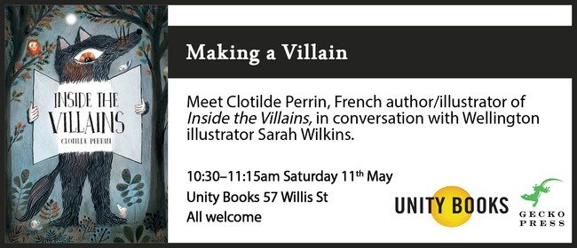 Author Talk - Clotilde Perrin With Sarah Wilkins