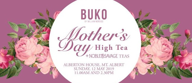 Buko: Mother's Day High Tea