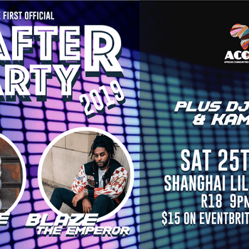 Official Africa Day After Party Club Night