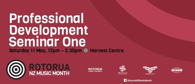 Professional Development Seminar One - NZ Music Month