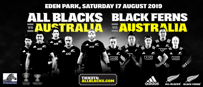 All Blacks v Australia & Black Ferns v Australia