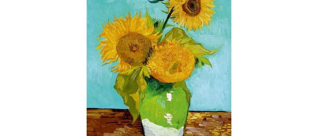 Wine and Paint Party - Van Gogh's Sunflowers Painting