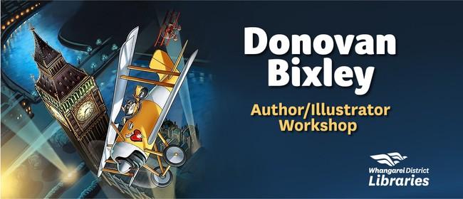 Donovan Bixley Author/Illustrator Workshop
