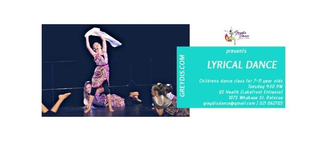 Lyrical Children's Dance Classes (7-11 years)