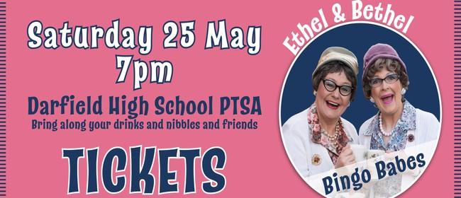 Ethel and Bethel 'Bingo Babes' - DHS PTSA Bingo Night