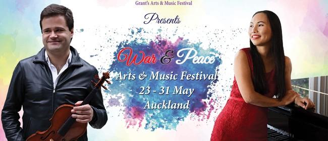 War & Peace WWI Centenary Viola Recital (1919-2019) [1]