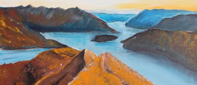 Paint and Wine Night - Roys Peak - Paintvine