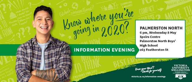 Victoria University Undergraduate Information Evening