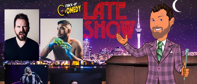 The Crack-Up Late Show with Alan McElroy