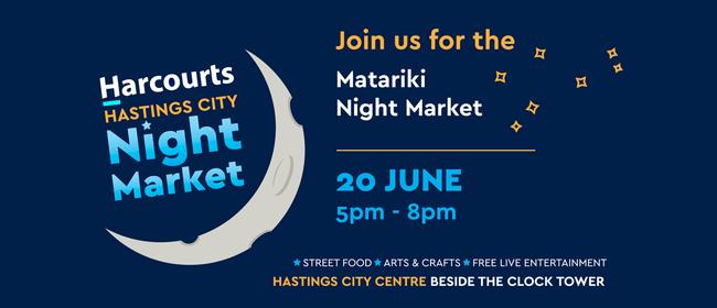 Harcourts Hastings City Matariki Night Market