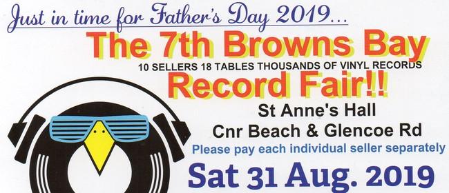 The 7th Browns Bay Record Fair