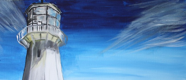 Paint and Wine Night - Pencarrow Lighthouse - Paintvine
