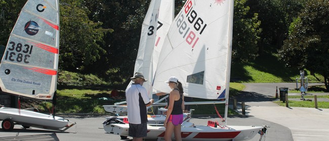 PLSC Laser and Opti Learn to Sail Training