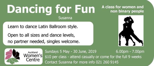 Dancing for Fun (Women's Class)
