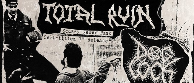 Total Ruin/Piggery Double Record Release Show
