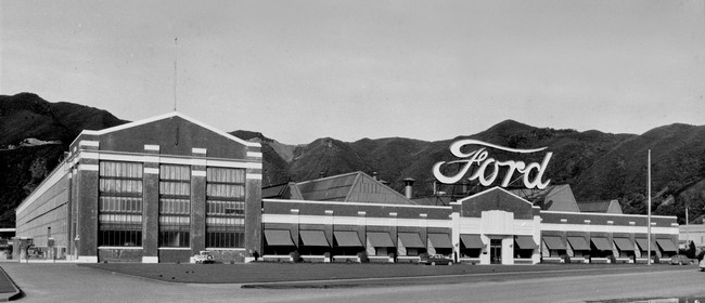Assembling the Ford Story - Pop-up Ford Exhibition
