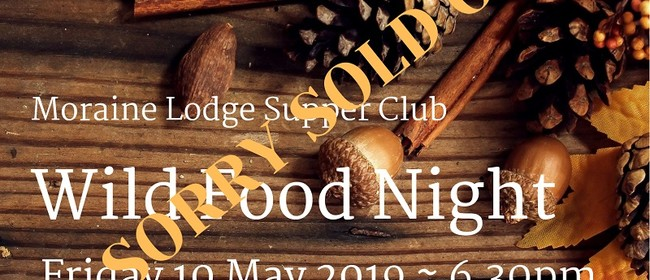 Wild Food Night - Moraine Lodge Supper Club