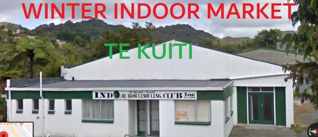 Winter Indoor Market Te Kuiti