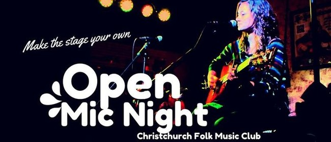 Open Mic Night Opportunity: The First Open Mic for The Year
