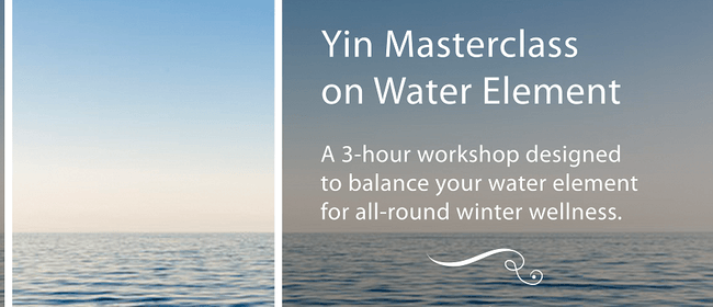 Yin Masterclass on Water Element