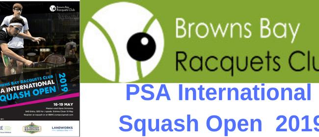 PSA International Squash Open 2019