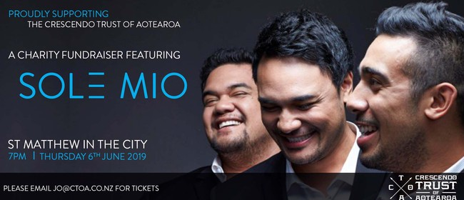 The CTOA Charity Fundraiser Featuring Sol3 Mio