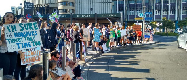 Palmerston North School Strike 4 Climate