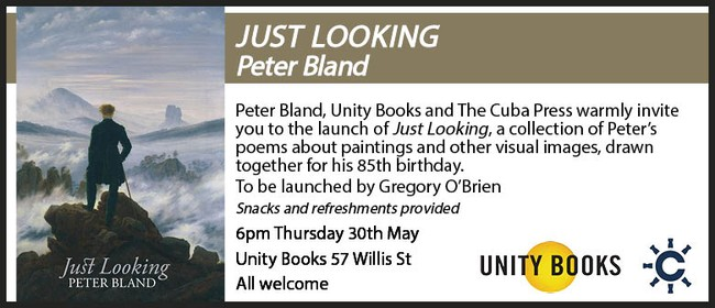 Book Launch - Just Looking by Peter Bland