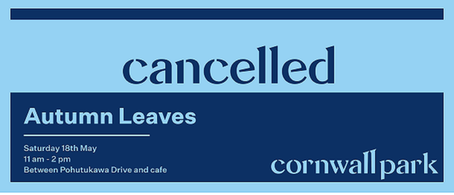 Autumn Leaves: CANCELLED