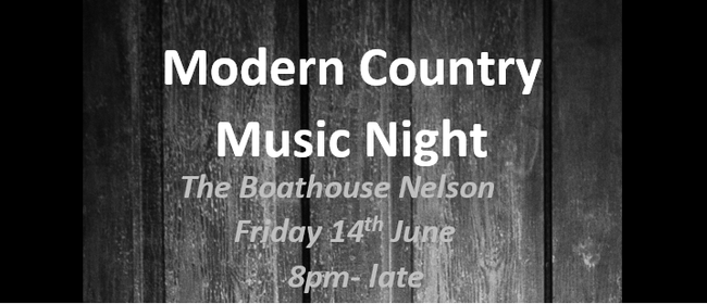 Modern Country Music Night
