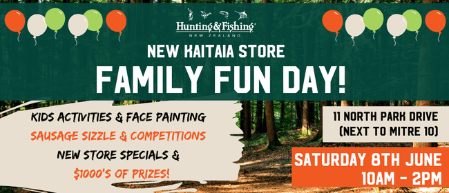 New Store Family Fun Day