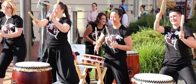 Try Taiko Drumming