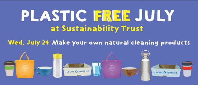 DIY Natural Cleaning Products for Plastic Free