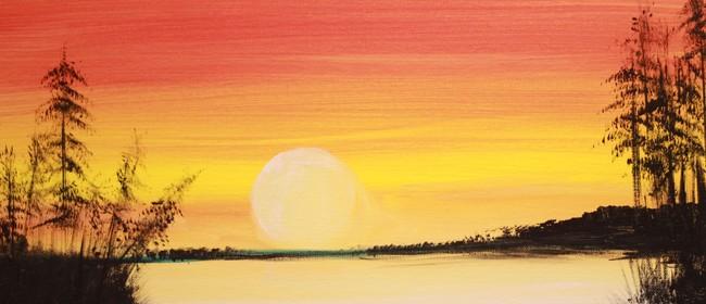 Paint & Chill Night (Auck) - Sunset at Muriwai