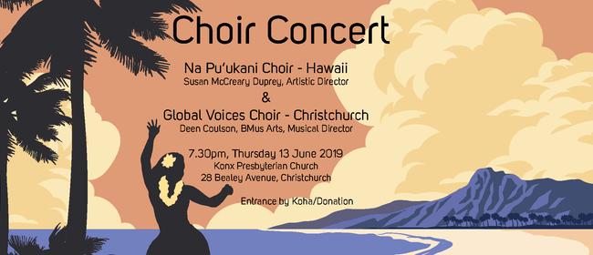 Hawaiian Choir & Global Voices Choir Concert