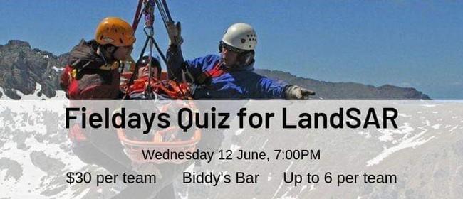 Young Farmers Fundraiser Quiz - LandSAR