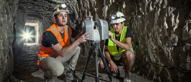 Laser Scanning the WW1 Arras Tunnels