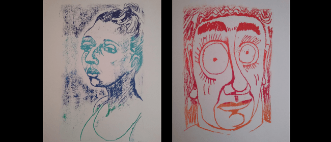 Have a Go At Mono Print