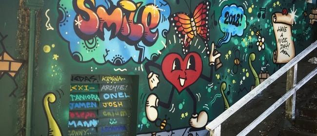 SRNDR - Solo Art Show by Josh M (AKA Loveheartman)