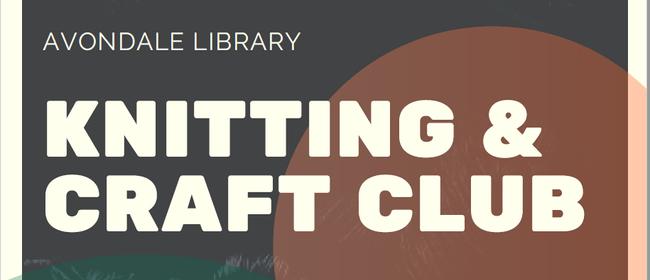 Knitting & Craft club