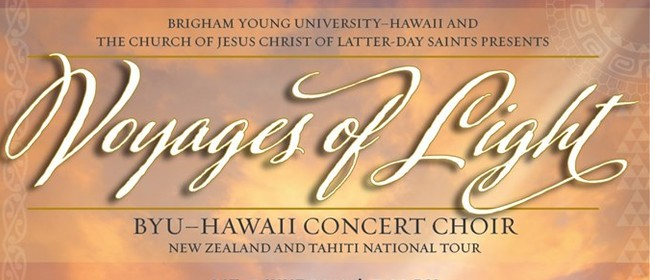 BYU Hawaii Voyages of Light Choir Concert Charity Event